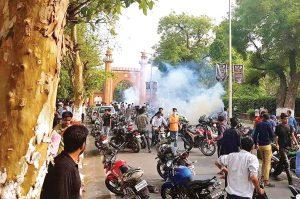 politics in india waar over jinnahs photo at aligarh muslim university