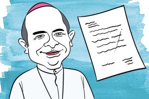 politics in india arkbishop letter to missionaries