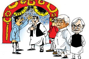 politics in india in talks marriage of tej pratap