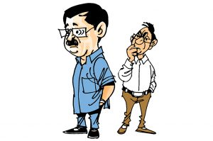 politics in india kejriwal shoe comments over bjp