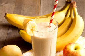 dry fruit banana shake