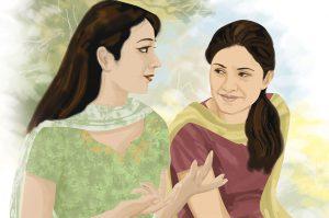 hindi story chhotey shehar ki ladki (Part-I)