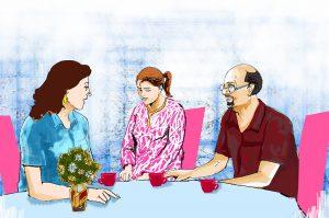 hindi story janpehchan himanshu se milne ko kyu aatir thi seema