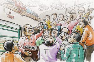 train hindi story