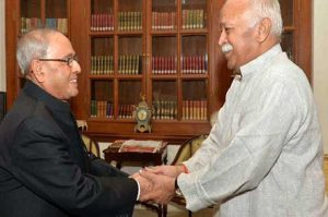 editorial relation between rss and pranab