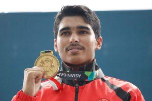 Farmers son Saurabh Chaudhary shoots Asian Games gold