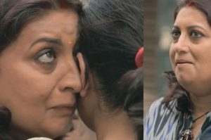 entertainment smriti irani walked in her home after 35 years for alt balaji promotion
