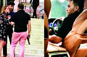 BSP Leader's Son Waves Gun Abuses Woman At 5 star hotel