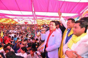 politics govinda promotes tribal party jayas