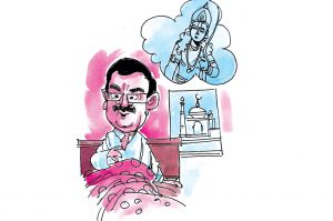 politics Waseem Rizvi Saw lord Rama crying in his dream: