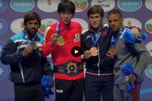 bajrang punia won silver medal