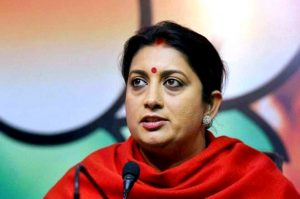 smriti iranis failure in politics